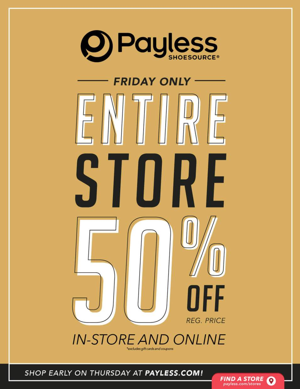 Payless Black Friday page 1